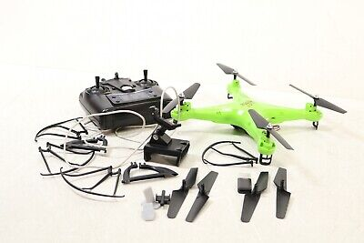 Sanctified Stone HS110 FPV Drone with 720P HD Live Video WiFi  HS110green - For Parts