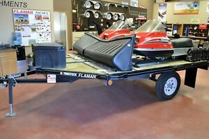 2017 Trailtech SM2-10 Flatdeck Snowmobile Trailer