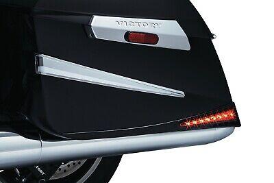 Kuryakyn 7170 Chrome Saddlebag Extensions Plug N Play Victory Cross Magnum 10-17