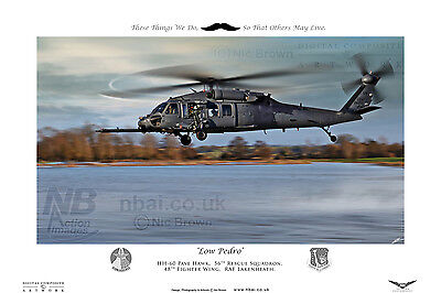 56th Rescue Squadron, HH-60, 48th FW RAF Lakenheath, Digital Artwork