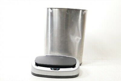 iTouchless 13 gallon Sensorcan Touchless Trash Can with Odor ITOS13B - Preowned