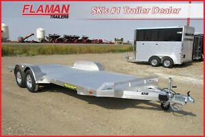 Aluma 18' Carhauler - All Aluminum, Low Profile Ramps!