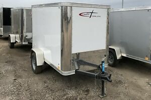 2017 Cross Trailers 4x8S/A Enclosed Cargo Trailer