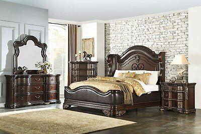 """HOMELEGANCE """"Royal Highlands"""" 5 Piece Cal King Bedroom Set - FREE Del. & Setup"""