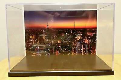 NEW YORK City Skyline action figure Display Stand Style Diorama Case-case (Stand Diorama)