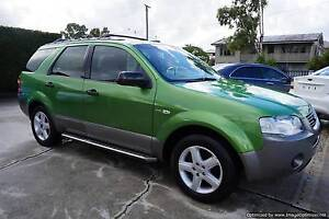 A Green 2004 Ford Territory Wagon, Automatic with AWD Northgate Brisbane North East Preview