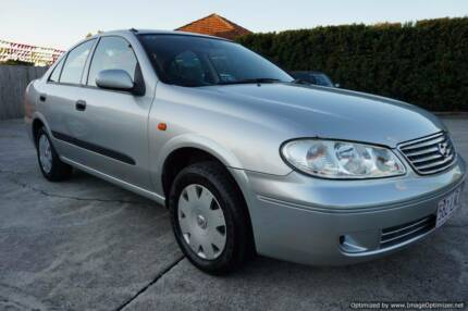 04 Nissan Pulsar Sedan,Low Km's,Drives Perfect!Rego.RWC.Warranty Northgate Brisbane North East Preview