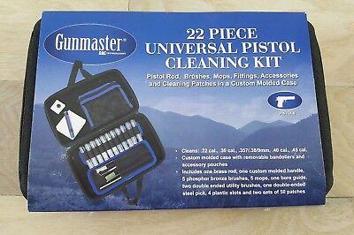 Gunmaster 22 Piece Universal Pistol Cleaning Kit