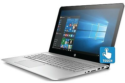 "HP Envy 15 Laptop 15.6"" 1080 Touchscreen Intel i7-7500U 8GB 1TB SSD Backlit W10"
