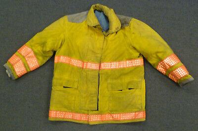 48x35 Globe Yellow Firefighter Jacket Coat Bunker Turn Out Gear J731