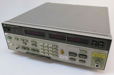 Agilent Hp 8970b Noise Figure Meter W Opt. 020 10 Mhz To 2047 Mhz