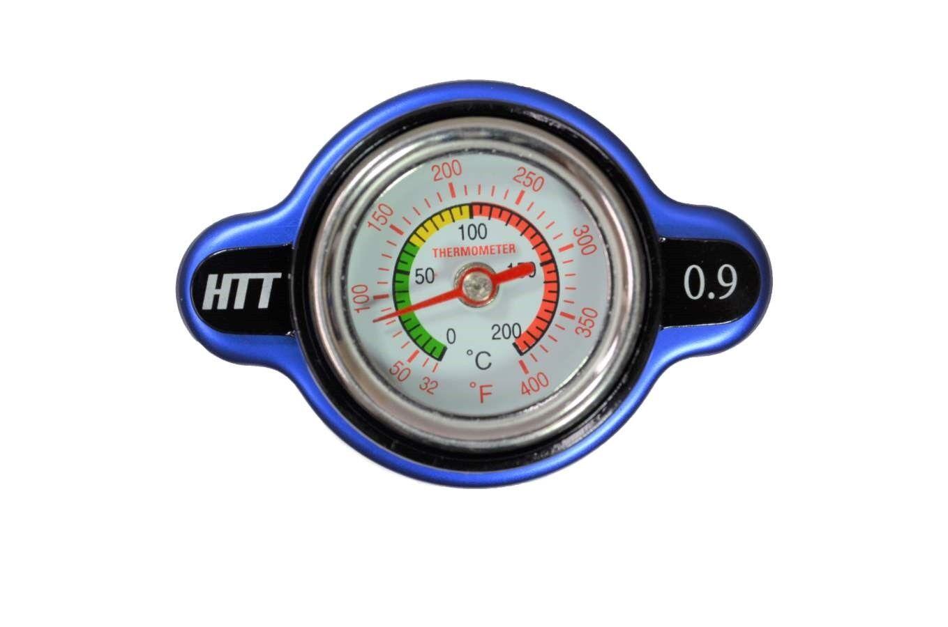Radiator Cap 13 PSI Pressure Rating with Temperature Gauge 10227