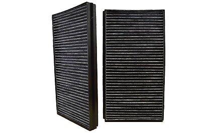Cabin Air Filter Carbon Set of 2 fits BMW 525I 528I 530I 530XI 535I 550 645 M5
