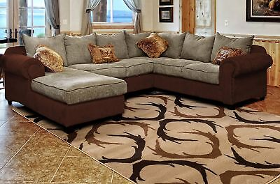 Rustic Lodge Deer - Lodge Deer Buck Antlers Cabin Rustic Area Rug **FREE SHIPPING**