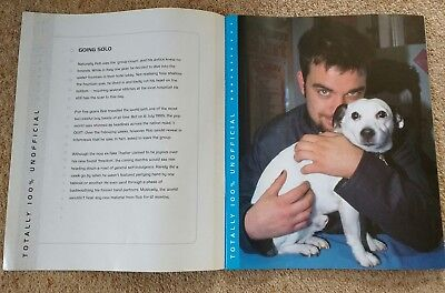 Robbie williams Poster & story Book Memorabilia. Over 20 Tear Out Colour Photos