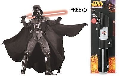 STAR WARS DARTH VADER SUPREME Rubie's Adult Halloween COLLECTOR THEATER COSTUME for sale  Shipping to Canada
