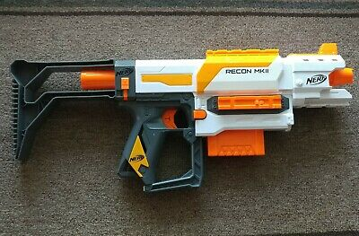 Nerf Modulus Recon MKII Blaster Orange Toy Gun Darts Hasbro MK2 *TESTED*