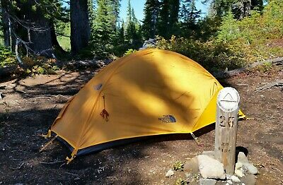 North Face Stormbreak 1, 1 person tent with footprint