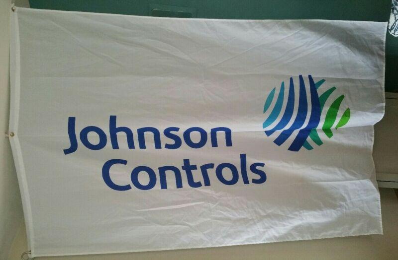 Johnson Controls Flag Banner Big