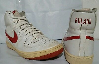 Nike NBA Player Sample Basketball Shoes Jeff Ruland 1982 Legend OG VTG size 14