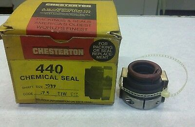 Chesterton 43217 440 Chemical Seal Shaft Size .937