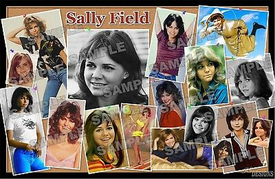 SALLY FIELD Fan Made Poster Print 11 X 17 BULLITIN BOARD - Bullitin Board