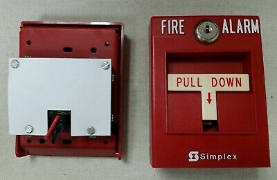 Simplex 2099-9795 Addressable Pull Station Without Rod.
