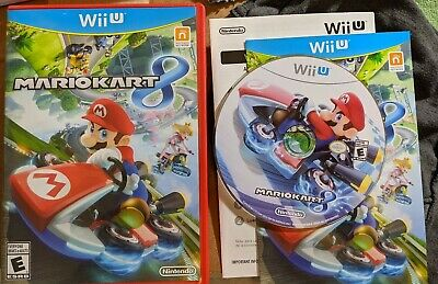 MARIO KART 8 (Nintendo Wii U, 2014) Racing Nintendo Games Same Day Ship