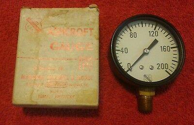 Ashcroft Pressure Gauge Size 2-12 200 Pressure