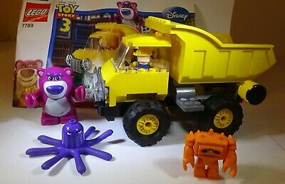 Lego Toy Story 7789 Lotso's Dump Truck 129 pcs with instructions 100% Complete