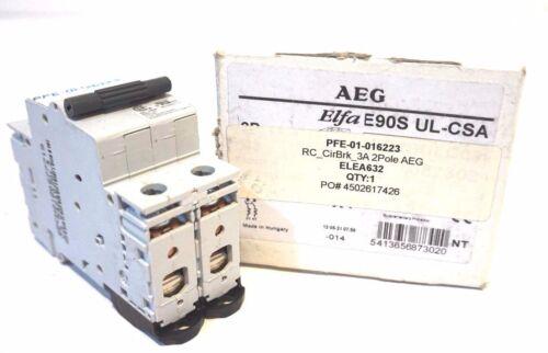 NEW AEG E90S-UL-CSA CIRCUIT BREAKER E90SULCSA