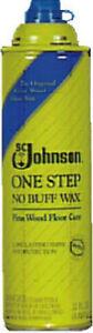 S C Johnson 22 OZ, Johnson Wax, Fine Wood Floor Care 00125