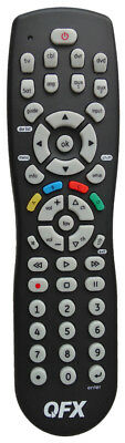 Universal Remote Control 6 Device Controls TV, Cable, VCR, DVD