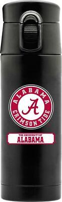 ALABAMA CRIMSON TIDE 16oz STAINLESS STEEL COFFEE THERMOS FROM DUCKHOUSE SPORTS ()