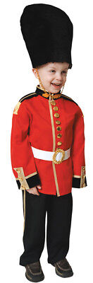 Royal Guard Child Costume British Officer Soldier Military - British Guard Halloween Costume