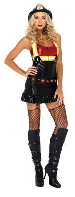 Hot Spot Honig Erwachsene Damen Kostüm Lack-Optik Strumpfband Kostüm Leg - Honig Kostüm