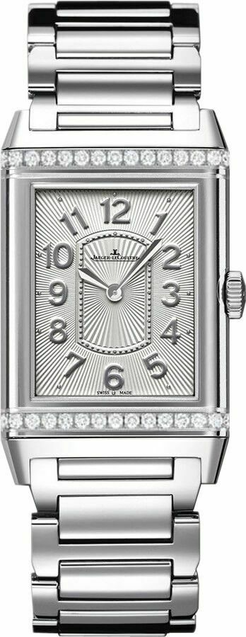Jaeger LeCoultre Reverso Lady Ultra Thin Diamond Womens Watch Q3208121