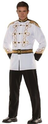 Prince Charming Adult Men's Costume Disney English British Royalty Halloween - Prince Charming Disney Costume