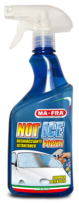 DEGHIACCIANTE NOT ICE AUTO SCIOGLI GHIACCIO VETRI SERRATURE INVERNO MAFRA 500ML