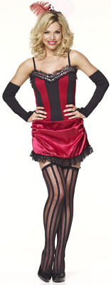 Saloon Outfit (SALOON GIRL BURLESQUE FANCY DRESS OUTFIT)