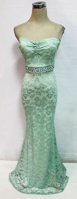 WINDSOR Mint Party Prom Formal Evening Gown 11 -$100 NWT