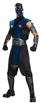 Erwachsene Mortal Kombat Sub Zero Subzero Kostüm - Mortal Kombat Sub Zero Kostüm