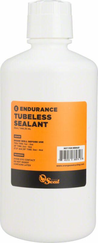 Orange Seal Endurance Tubeless Tire Sealant Refill - 32oz Bottle