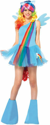 My Little Pony Sexy Rainbow Dash Cosplay Rave Costume Small NO HEADBAND #7268
