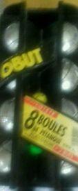 8 Boules + 2 buts