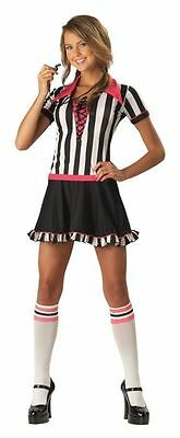 Girl Referee Costume (Racy Referee Teen Costume Girls Women Games Football Basketball Sporty)
