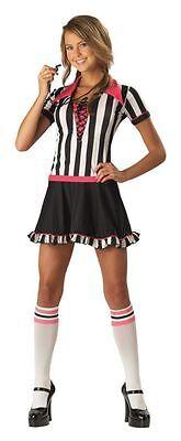 Racy Referee Teen Costume Girls Women Games Football Basketball Sporty Party - Girls Football Costume