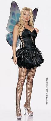 Leg Avenue 8945 Gothic Pixie Outfit schwarz Gr. M