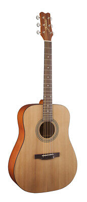 "Jasmine by Takamine S35 ""Best Starter"" Dreadnought Satin Natural Acoustic Guitar"