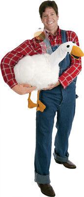 Big Fat Goose Arm Puppet Adult Men Costume Jack Beanstalk Farmer Comical Funny (Costume Farmer)